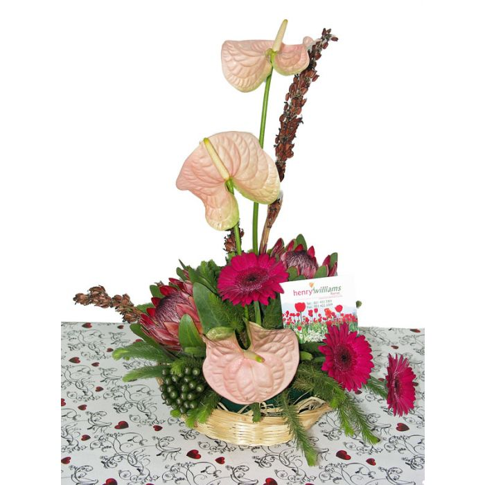 Soft Pleasure Florists arrangement
