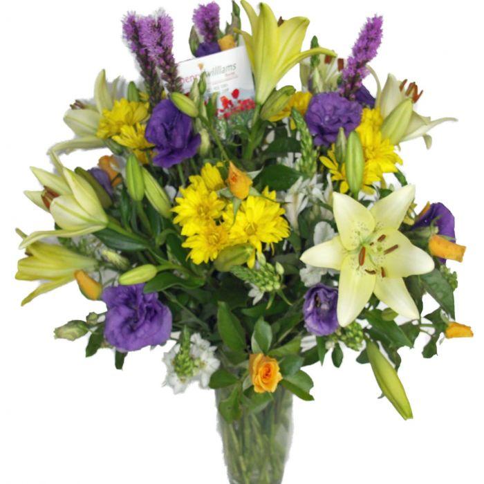 Florists Summer Vase