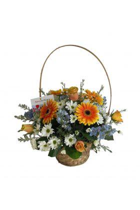 FloristsSmiles Basket