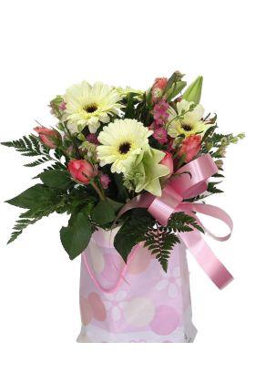 Florist bags of fun flowers gift