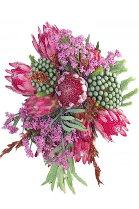 Protea and Fynbos Bouquet