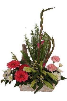 Dutch garden flower arrangement