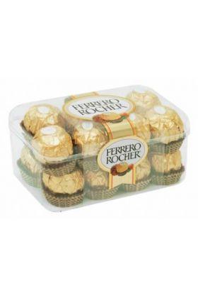 Fererro Rocher chocolates in clear box