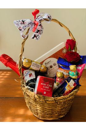 Christmas Juice and Chocs Hamper