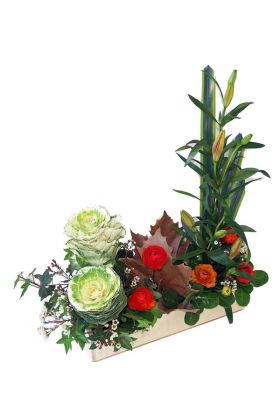 Winter Cheer box arrangement