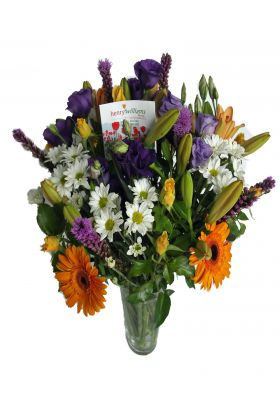 Florists Cheerful Mixed Vase