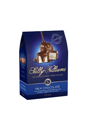 Sally Williams Milk Chocolate 125grm
